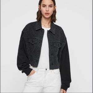 ALL SAINTS Anders Leo Denim Jacket - XS/S